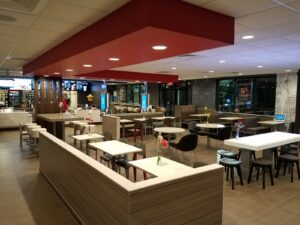 Newly renovated by Encore Construction: McDonald's Annapolis.